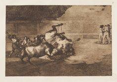 Goya en El Prado: Desgraciada embestida de un poderoso toro