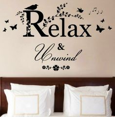 Relax quote via Carol's Country Sunshine on Facebook