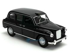 London Black Cab Taxi Die Cast Metal Model Cab Taxi Toy Pull Back & Go Action M