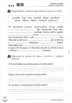Użyj STRZAŁEK na KLAWIATURZE do przełączania zdjeć Learn Polish, Polish Language, Educational Crafts, Homeschool, Teacher, Lettering, Learning, Speech Language Therapy, Therapy