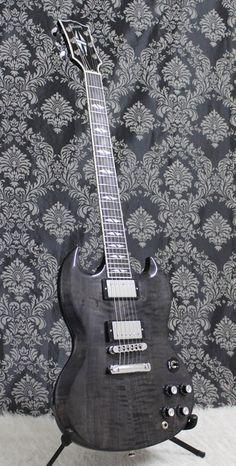 2006 Gibson SG Supreme Trans Black