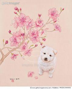 제목 : 꽃노래 (2011년)<br/>소재 : 일러스트<br/>작품사이즈 : 37x45cm(㎝)<br/>작품 설명 : 꽃노래