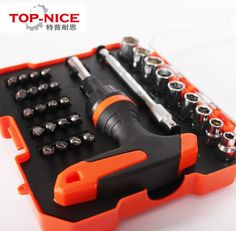 Top-nice 32 in 1 Screwdriver Set with Magnetic Screwdriver Set DIY combination screwdriver disassemble tool combination tool set #Affiliate