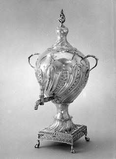 THe Daughter of a Hueguenot Silvermith Louisa Courtauld Hot-water urn