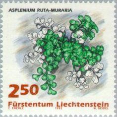 Sello: Ferns (Liechtenstein) (Ferns) Mi:LI 1048,Yt:LI 989,Zum:LI 990