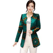 Image result for african print blazers for females