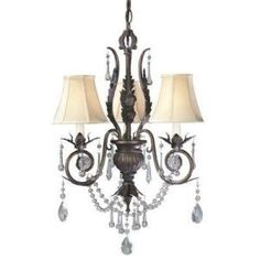 Dramatic Bronze Mini Chandelier-750-62 at The Home Depot