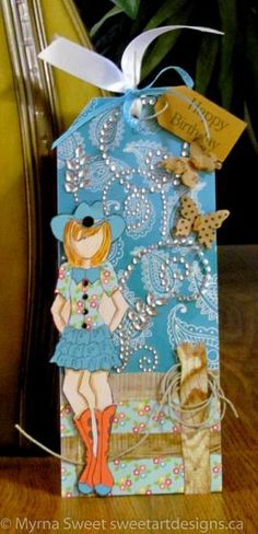Prima Cowgirl by mjs1033 - Cards and Paper Crafts at Splitcoaststampers