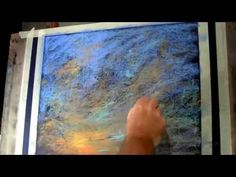 12 Minutes Les Darlow pastel demonstration