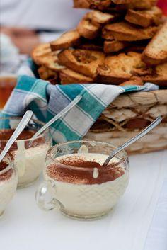 Cena di una notte di mezza estate. Crema di mascarpone al vinsanto | Juls' Kitchen