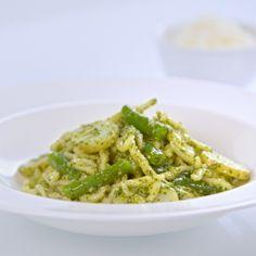 Trofie Pasta Liguria (Pasta with Pesto, Potatoes and Green Beans)