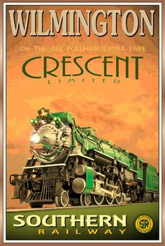 Southern RR travel poster