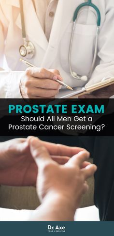 Do all men need to have a prostate exam? Let's sort out the research.