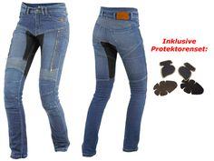 Trilobite Textile Trousers / Kevlar Jeans Parado WOMEN