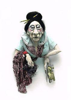 Van Craig Sculpture and Doll Art | Original Sculpture