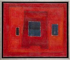 Jerzy Nowosielski - Abstrakcja Czerwona