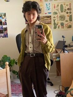 Stylish Mens Outfits, Preppy Outfits, Cool Outfits, Fashion Outfits, Teen Girl Outfits, Outfits For Teens, Hippy Fashion, Androgynous Fashion, Neutral Outfit