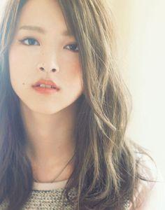 Dark ash × ennui hair flow raise the suction force of the Long! | LONG | hairstyle | web !! ar