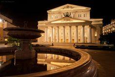 Bolshoi Theatre, Moscow (by Yuri Degtyarev)