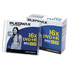 PLEOMAX DXP47610SJ 16X 4.7 GB DVD+RS (10 PK WITH JEWEL CASES) by Pleomax. $7.29. RECORDING LAYER TECHNOLOGY FOR DURABILITY & HIGH PERFORMANCE 4.7 GB 120 MIN 10-PK WITH JEWELCASES