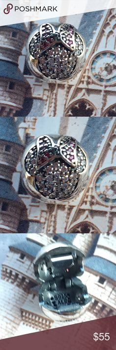 PANDORA DISNEY MINNE MOUSE CZ CLIP AUTHENTIC BRAND NEW Pandora Jewelry Bracelets