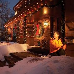 Learn how to safely install an outdoor electrical outlet - you'll have power where you need it for holiday decorations and lights.