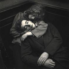 """""""In the arms of love"""" Paris, Saint Germain des Prés, 1950 by Ed van der Elsken, Vintage Photography, Street Photography, Art Photography, Photography Couples, Underwater Photography, Digital Photography, Wedding Photography, Photo D Art, Foto Art"""