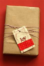 Next Year's Christmas theme - kraft paper, bakers twine - simple!