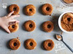 Baby Led Feeding Super Healthy Doughnuts. Healthy Homemade Baby Food Recipes. Healthy baby treats.