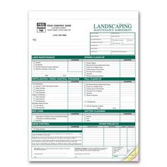 Lawn Care and Landscaping Services Proposal - Create your own ...