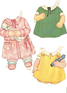 Miss Missy Paper Dolls: Baby Sister