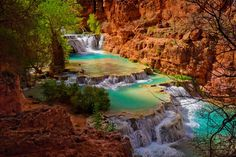 Jared Wilson · Been to all 50 states and the Havasupai area is among the most beautiful places in the country.