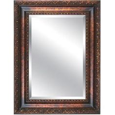 Yosemite Home Decor 35 in. x 46.5 in. Rectangular Decorative Framed Mirror-YM032G-90 at The Home Depot