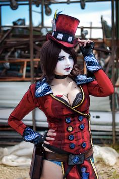Videogame: Borderlands. Character: Mad Moxxi . Cosplayer: Andy Rae. From: Canada. Photo: ZRB, 2014.