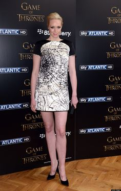 Game Of Thrones' Star Gwendoline Christie Barely Recognizable At ...