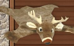 Lodge cabin log cabin themed bedroom decorating ideas moose fishing
