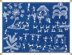 Indian folk art (Warll)