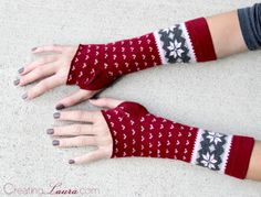 Cool DIY Arm Warmers Made Of Socks | Shelterness
