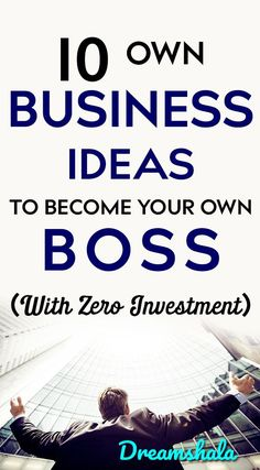 10 own business ideas to become your own boss today with no investment. prosperity and positive business advice. Here is some ideas for practicing the law of attraction. Discover new business and money making ideas. Ways To Earn Money, Earn Money From Home, Earn Money Online, Online Jobs, Money Tips, Way To Make Money, Money Hacks, Money Today, Own Business Ideas