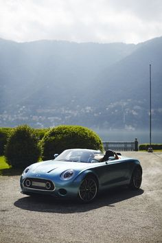 MINI Superleggera™ Vision: A Dream MINI Years in the Making Steals the Show at Concorso d'Eleganza