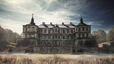 ファンタジックで美しすぎる9つの世界の廃墟城