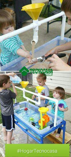 Proyectos divertidos para los niños hechos con PVC