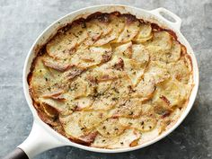 Garlic Potato Gratin from #FNMag