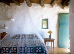 Guest house in Mykonos, Greece, photographed by Paul Ryan for Deborah French Designs