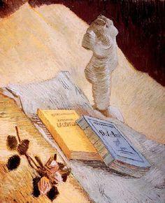 Nature mort a la statuette van gogh Mary Cassatt, Vincent Willem Van Gogh, Van Gogh Art, Dutch Painters, Post Impressionism, Sculpture, Famous Artists, Oeuvre D'art, Les Oeuvres