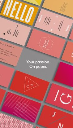 These are not your average business cards. Tell the story of you and your business with premium paper stocks, full-color, double-sided designs and unique options like gold foil, raised gloss and rounded corners. Get inspired; start with a template or upload your own photos and designs to create your cards in minutes. #UniqueBusinessCards