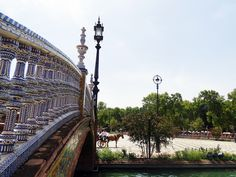 Bridge. Avenue. Spain. Seville. South. Europe. Trip. Travel. Traveling. Photograph. Art | Instagram: cbriannem