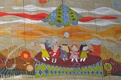 Mary Blair murals at Disneyland