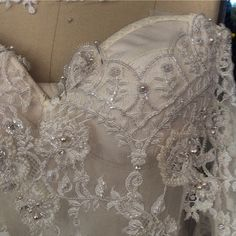 #azzariabridal Sneak peek into Azzaria Haute Couture 2015 collection.