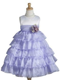 Crayon Kids Ivory and Purple Flower Girl Party Dress  #instalikes #flowergirl #christmasdress #instagram #christmasoutfits #flowergirldress #Oasislync #fashionstyle #kidsclothes #fashion